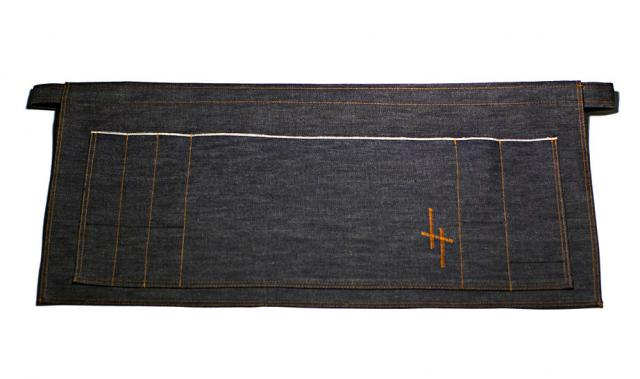 Hand Made Selvage Denim Apron