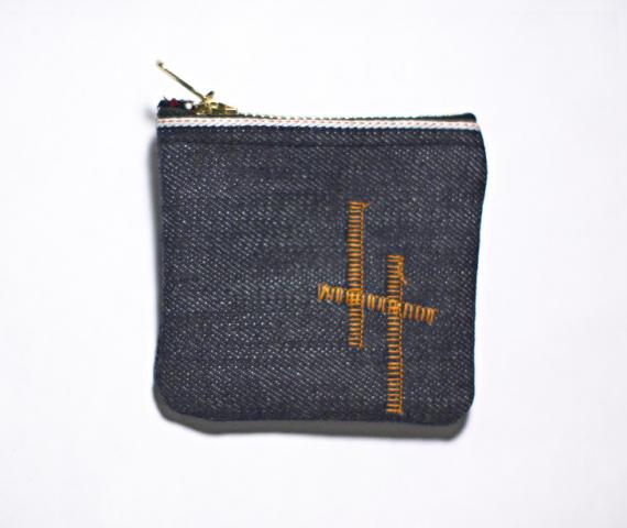 Hand Made Selvage Denim Coin Purse
