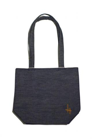 Hand Made Selvage Denim Tote (Large)